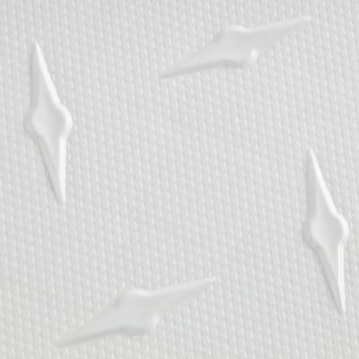 12 in. W x 12 in. L Artic White Diamondtrax Home Modular Polypropylene Flooring (10-Tile/Pack) (10 sq. ft.)