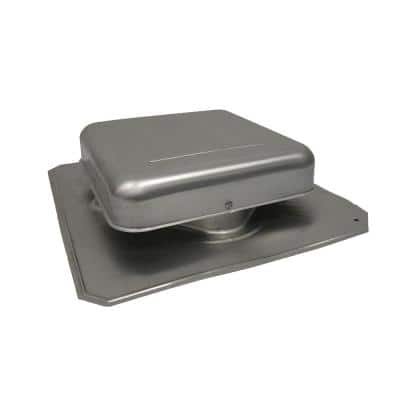 50 in. NFA Mill Aluminum Square-Top Static Roof Vent (Carton of 10)