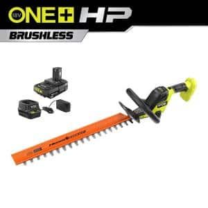 ONE+ HP 18V Brushless 22 in. Cordless Battery Hedge Trimmer with 2.0 Ah Battery and Charger