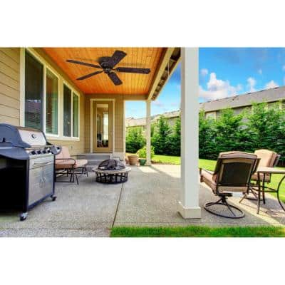 Contempra 48 in. Indoor/Outdoor Oil Rubbed Bronze Ceiling Fan
