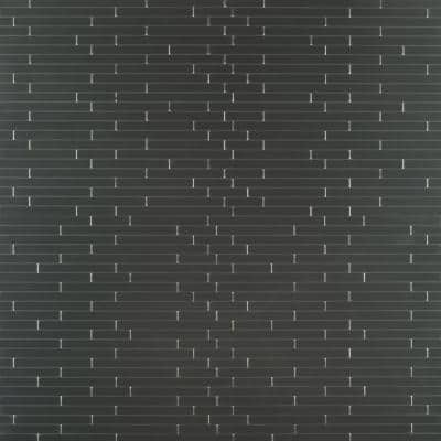 Silverina Interlocking Peel and Stick 12 in. x 11 in. x 5mm Metal Mosaic Tile (0.920 sq. ft.)