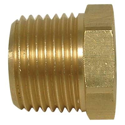 1/2 in. MIP x 3/8 in. FIP Brass Bushing Fitting