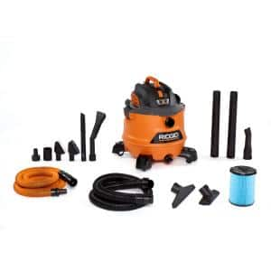 14 Gal. 6.0-Peak HP NXT Wet/Dry Shop Vacuum with Fine Dust Filter, Hose, Accessories and Premium Car Cleaning Kit