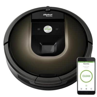 Roomba 985 Wi-Fi Connected Robotic Vacuum Cleaner