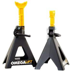 6-Ton Double Locking Pin Jack Stands - Pair