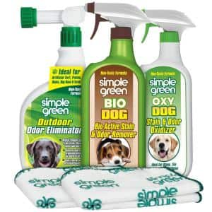 Dog Indoor and Outdoor Odor and Stain Remover Kit