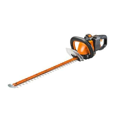POWER SHARE 40-Volt 24 in. Cordless Hedge Trimmer with Rotating Handle (Batteries 2x20V and Charger Included)