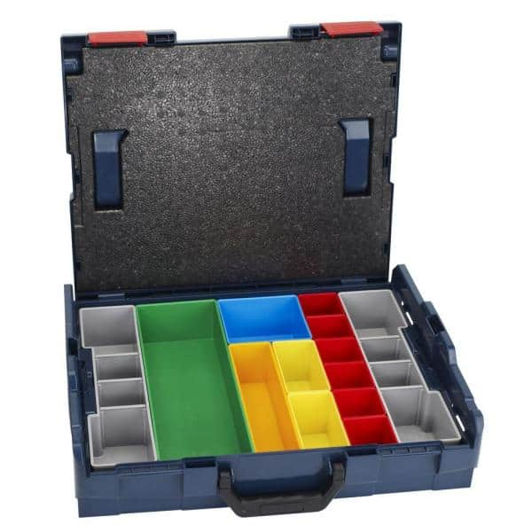Bosch Sortimo L-Boxx 136 anthracite with Tool card 1 and Inset box set Mini