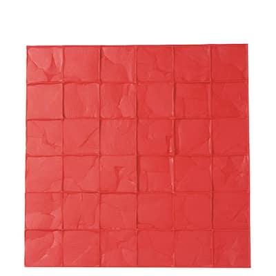 24 in. x 24 in. Granite Sets Floppy Mat Concrete Stamp