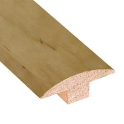 Maple/Birch Natural 3/4 in. Thick x 2 in. Wide x 78 in. Length Hardwood T-Molding
