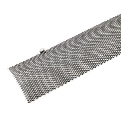 36 in. x 6 in. Hinged Unpainted Gutter Guard