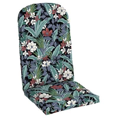 20.5 in. x 31 in. Tropical Outdoor Adirondack Chair Cushion