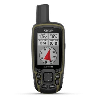 GPSMAP 65s Multi-Band/Multi-GNSS Handheld with Sensors