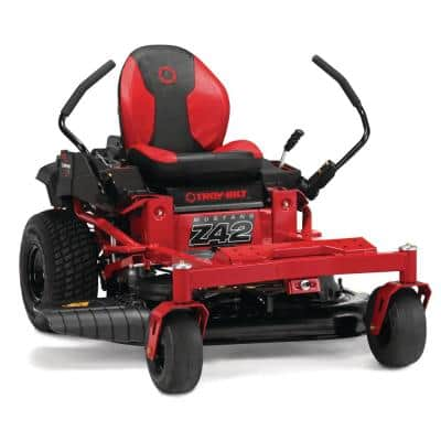 Mustang 42 in. 679 cc V-Twin OHV Engine Dual Hydrostatic Drive Gas Zero Turn Riding Lawn Mower