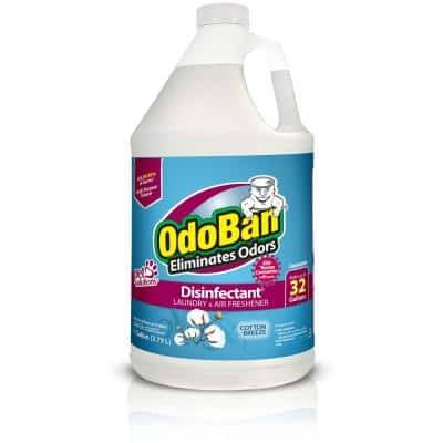1 Gal. Cotton Breeze Disinfectant and Odor Eliminator, Fabric Freshener, Mold Control, Multi-Purpose Cleaner Concentrate