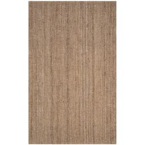 Natural Fiber Beige/Grey 5 ft. x 8 ft. Indoor Area Rug