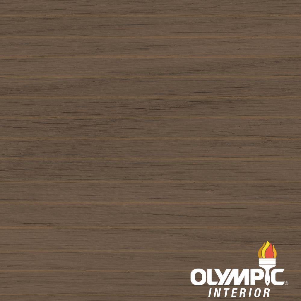 1-gal. Ebony Semi-Transparent Oil-Based Wood Finish Penetrating Interior Stain