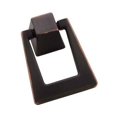 Blackrock 1-13/16 in (46 mm) Length Oil-Rubbed Bronze Cabinet Pendant
