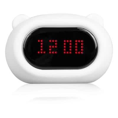 Silicone LED Clock Night Light