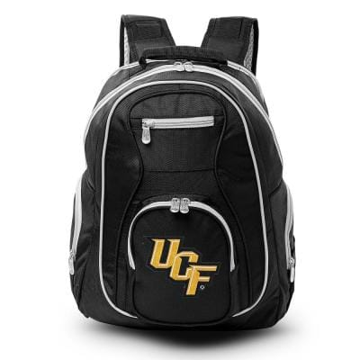 NCAA Central Florida Golden Knights 19 in. Black Trim Color Laptop Backpack