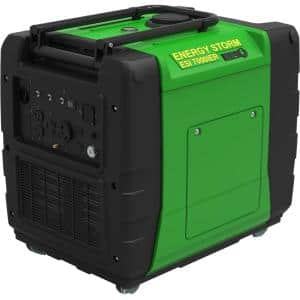 Energy Storm 7,000/6,500-Watt Gas Powered Electric/Remote Start Portable Inverter Generator (Electric Fuel Injected)