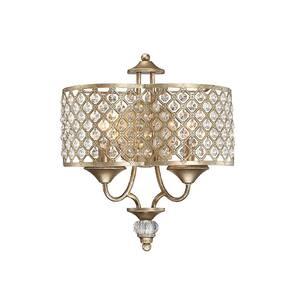 2-Light Pyrite Sconce