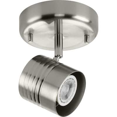 Kitson 1-Light Brushed Nickel Halogen Track Lighting Head