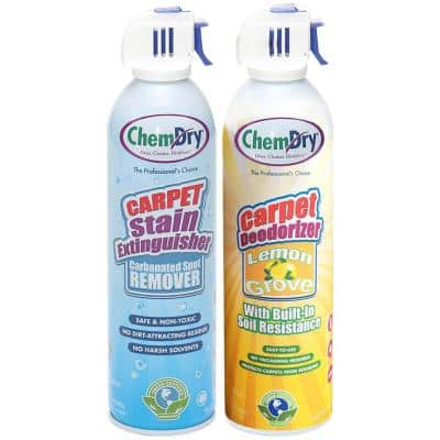 Lemon Grove Scented Stain Extinguisher/Carpet Deodorizer Combo Pack