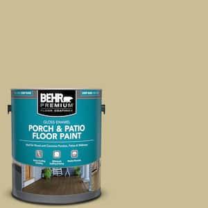 1 gal. #M330-4 Morning Tea Gloss Enamel Interior/Exterior Porch and Patio Floor Paint
