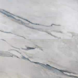 Daze Stone 24 in. x 48 in. Gray- Blue Matte Porcelain Floor and Wall Tile (2 pieces / 15.49 sq. ft. / case)