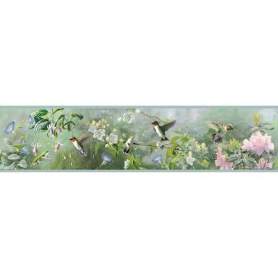 Weatherby Mint Ruby Mint Wallpaper Border
