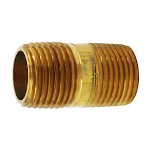 1/2 in. x 1-1/2 in. MIP Brass Nipple Fitting