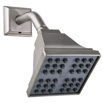 Torino Single-Handle 1-Spray Tub and Shower Faucet in Satin Nickel