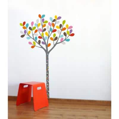 """(39 in x 58 in) Multi-Color """"Colours in the Woods"""" Kids Wall Decal"""