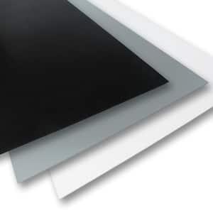 24 in. x 24 in. x 0.236 in. Black/Grey/White Foam PVC (3-Pack)