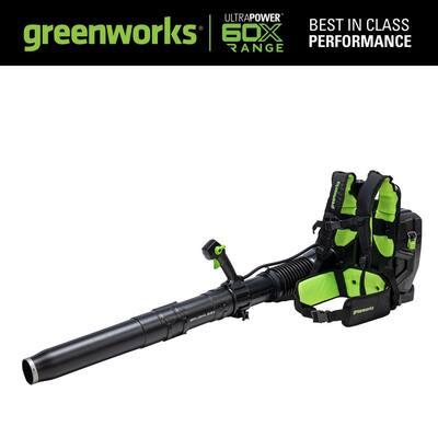 X-Range 160 MPH 710 CFM 60-Volt Dual Port Backpack Blower (Tool Only)