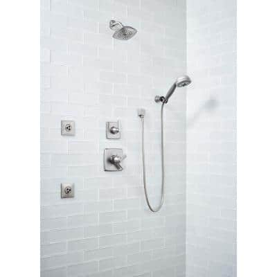 Frosted Icicle 3 in. x 9 in. Glossy Glass Ice White Subway Tile (3.8 sq. ft. / case)