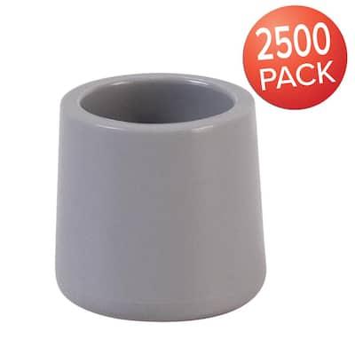 Gray Foot Cap (Set of 2500)
