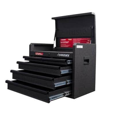 26 in. W 5-Drawer Tool Chest in Textured Black