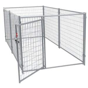 4 ft. H x 5 ft. W x 10 ft. L Modular Welded Wire Kennel Kit