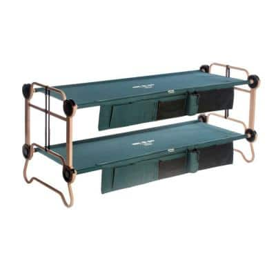 Large Green Bunkable Beds (2-Pack)