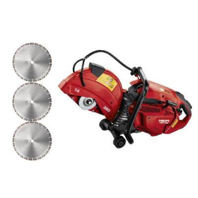 DSH 700-X 70CC 14 in. Hand-Held Gas Saw with Diamond Blades