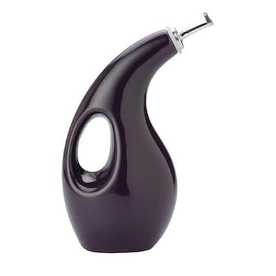 Purple Oil & Vinegar Dispensing Bottle
