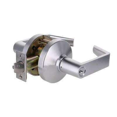 3000 Grade-1 US26D Dull Chrome Classroom Intruder Door Lever Lockset