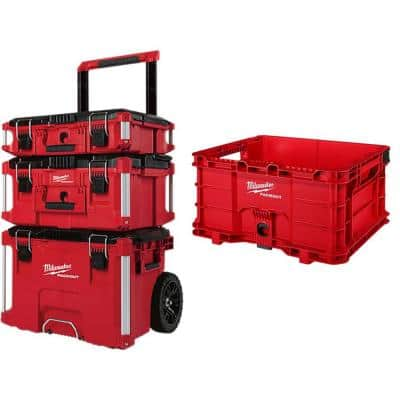 PACKOUT Modular Tool Box Storage System with Crate