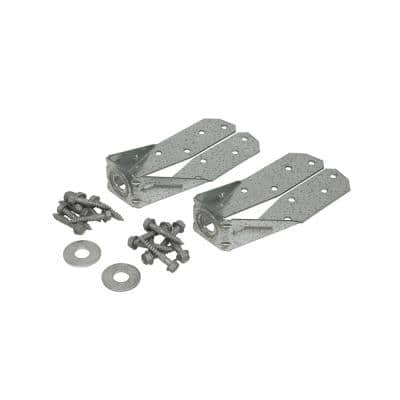 DTT ZMAX Galvanized Deck Tension Tie for 2x Nominal Lumber with 1-1/2 in. SDS Screws (2-Pack)