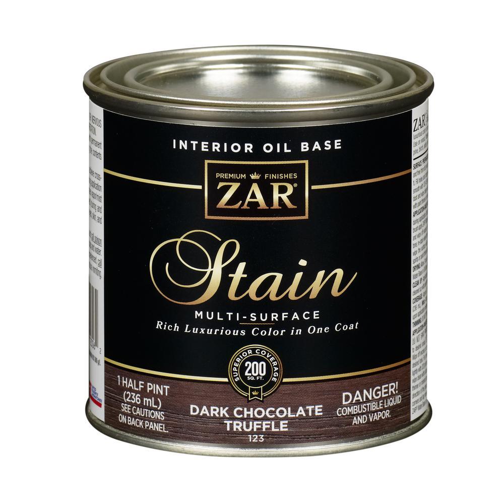 123 .5Pt Dark Chocolate Truffle Wood Stain (2-Pack)
