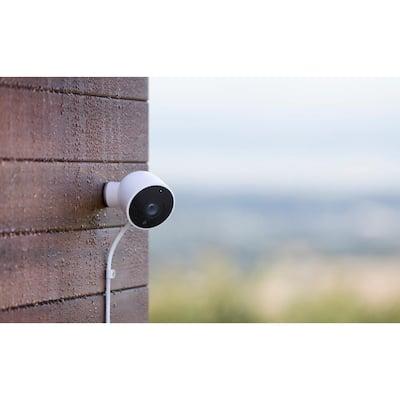Nest Hello Video Doorbell and Nest Cam Outdoor Security Camera