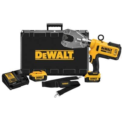 20-Volt MAX Cordless Dieless Cable Crimping Tool with (2) 20-Volt 4.0Ah Batteries, Charger & Case