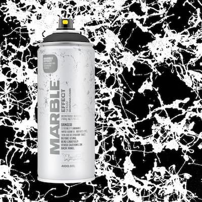 10 oz. MARBLE EFFECT Spray Paint, Black